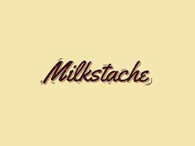 Milkstache logo milk cookies cookie vector art croatia vector illustrator logotype logos logodesign branding design branding design brand design brand logo design logo