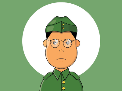 Netaji Birthday netajibirthday netaji vector startupbusiness illustration graphic design flat design design creative design branding brand adobe