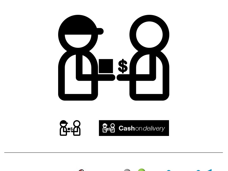 Cash On Delivery Icon delivery