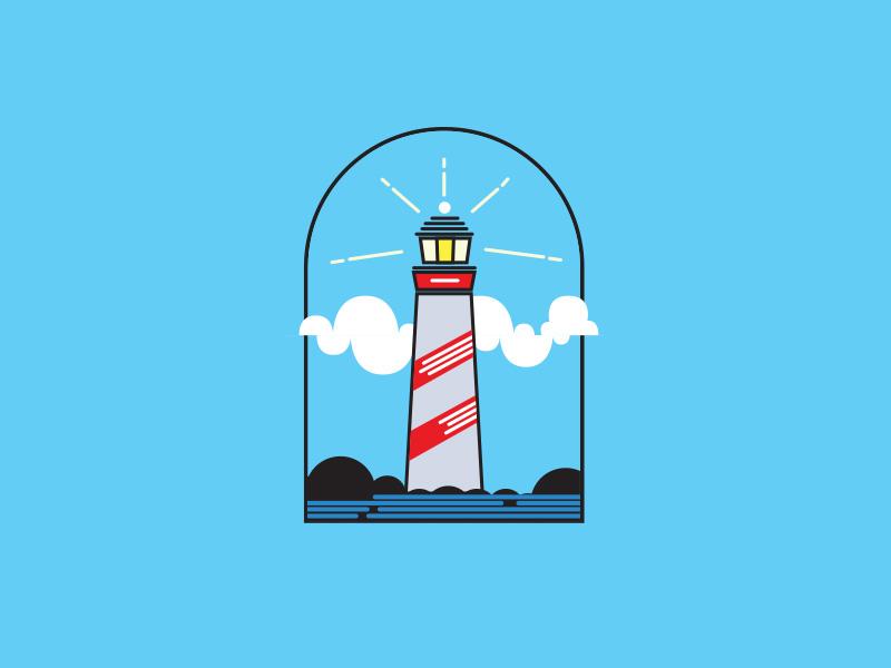 Lighthouse Logo lighthouse logo branding