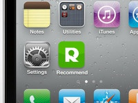 Recommend to me iPhone App icon