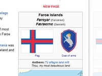 New coat of arms - Faroe Islands