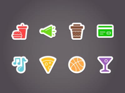 Hopover Status Icons