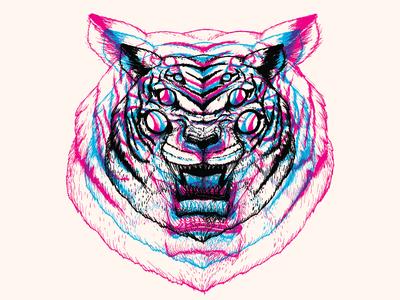 3D Tigress at Cotton Bureau