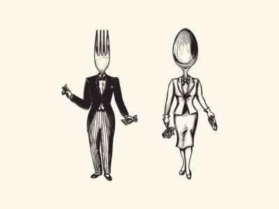 Restaurant Illustrations