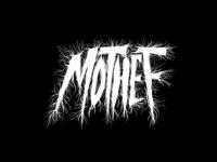 Mothef Dark Metal Lettering