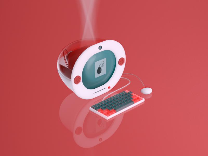 Have you tried restarting? blender3d illustration