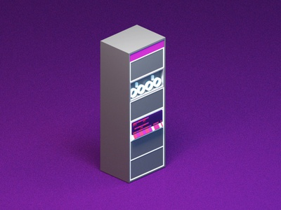 PDP-11 blender3d illustration game art