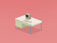 Desk 2x