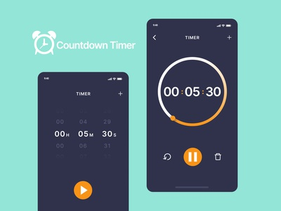 DailyUI #014 - Countdown Timer countdowntimer time dailyui