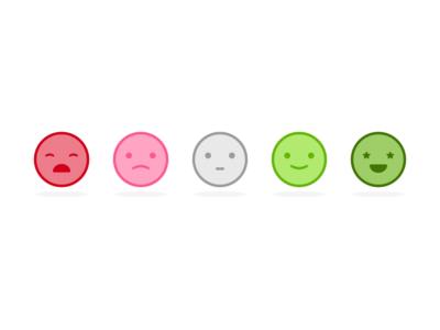 Mood Icons responsive ui ux designer argentina color flat mood illustration design graphic icons faces