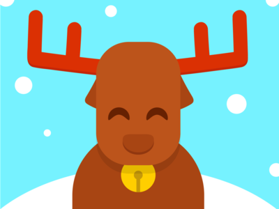 Christmas Deer reno rudolf noel papa navidad animal winter snow claus santa deer christmas