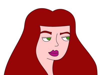 Self Portrait art design character vector colors illustration myself me portrait