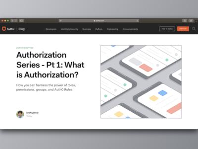 Authorization - Auth0 Blog