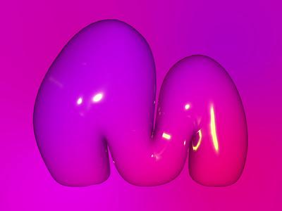 M typography logoanimation 3dtype 3dart kinetictypography typeanimation illustration design 3dfont 36daysoftype motion graphics logo graphic design animation 3d