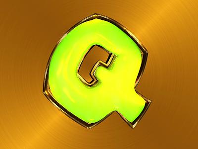Q fluid gold aftereffects cinema4d typeanimation kinetictypography 3dart 3dtype logoanimation typography illustration design 3dfont 36daysoftype motion graphics logo graphic design animation 3d