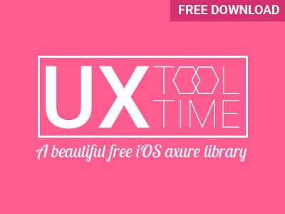 UX Tool Time axure free resource ios apple design ui ux tool tools freebies download