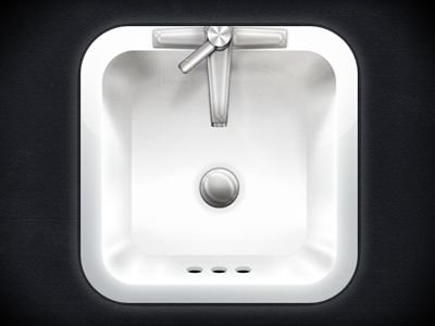 Everything icon app ui interface ux ios apple ipad iphone sink