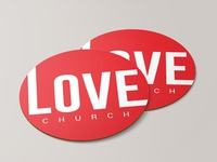 Love Church Coaster