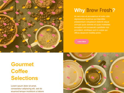 Brew Fresh UI Design: Landing Page 03 logo ux app website graphic design web illustration design dailyui 002 dailyui branding