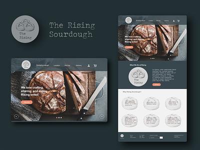 daily ui sourdough landing page 02 icon dailyuichallenge illustration app website web ux graphic design dailyui branding