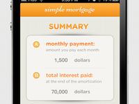 Simple Mortgage