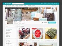 Shopcaster New Shop Page