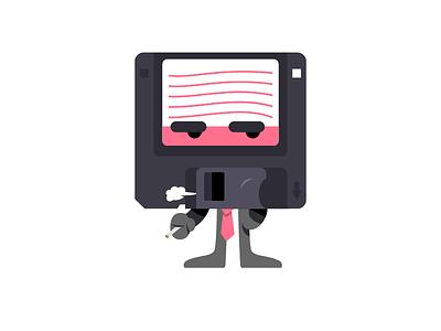 TGIF fridays pin floppy disc floppy work week