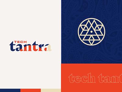Tech Tantra identity typography design icon branding brand logo tech tantra