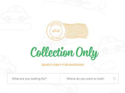 Collection Only ui design flat ebay bargain transport pattern