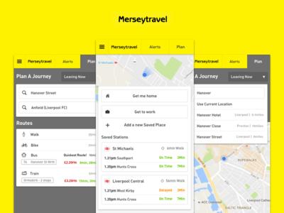 Merseytravel Redesign