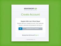 SourceCon.qa Modal Animation