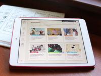 Street Child United (iPad App UX/UI)