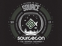 Sourcecon 2013 Shirt Concept