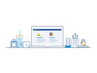 e-Core Rebrand P4 | Illustration Draft