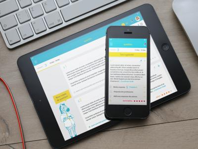 UI for a concourse study platform webapp app mobile product design visual design ux design ui design user interface design ux concept ui