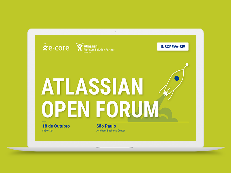 e-Core | Atlassian Open Forum Rebrand