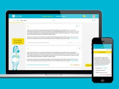 Vemser   Branding and UX/UI webapp zebra online learning ios app branding digital design mobile ux ui design website