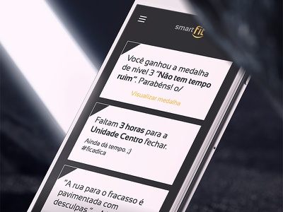 Smart Fit App Proposal #2 app mobile gym fitness