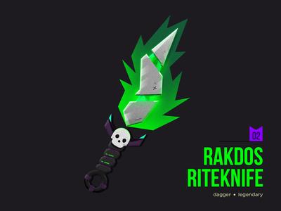 D&D Armory: Rakdos Riteknife