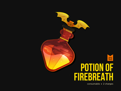 D&D Armory: Potion of Firebreath