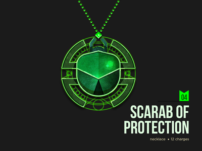 D&D Armory: Scarab of Protection