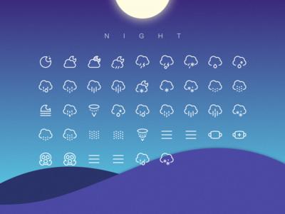 Weather Icon Night