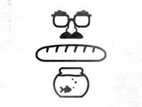 Zak McKracken - Nose Glasses, Baguette and Sushi