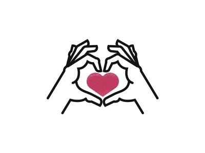 Love Is Everywhere heart love hand