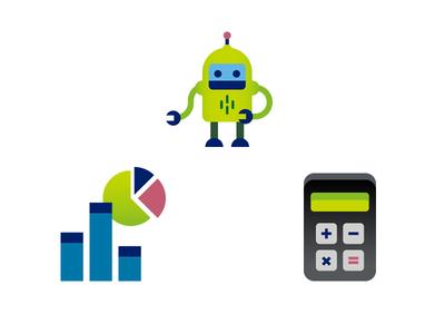 Three little things things robot diagram calculator 3 three