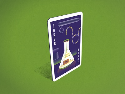 E-Fuels Playing Card green chemistry technology science poker engineering erlemeyer e-fuel fuel playing card joker energy revolution