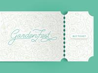 GardenFest Ticket