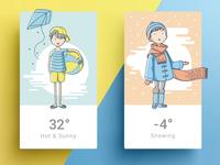 Four Seasons - Summer & Winter