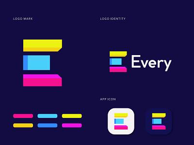 Every Letter E modern logo logo design e mark e logo popular shot illustrator creative logo abstract logo modern logo logo logo design popular logo logos app ux ui vector minimal typography branding design brand identity branding